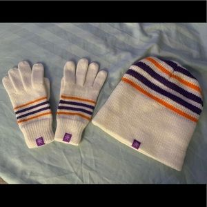 Set: Beanie and Gloves